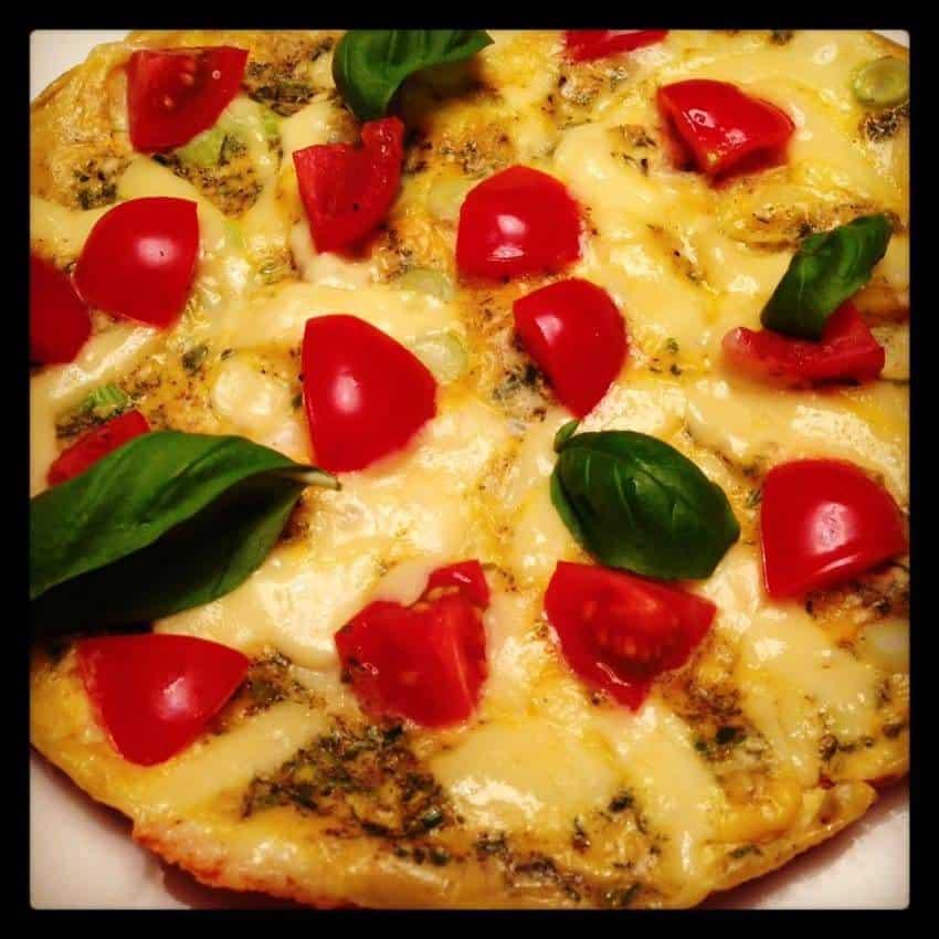 Für den gesunden und kohlenhydratarmen Start in den Tag: unser Käse-Omelette