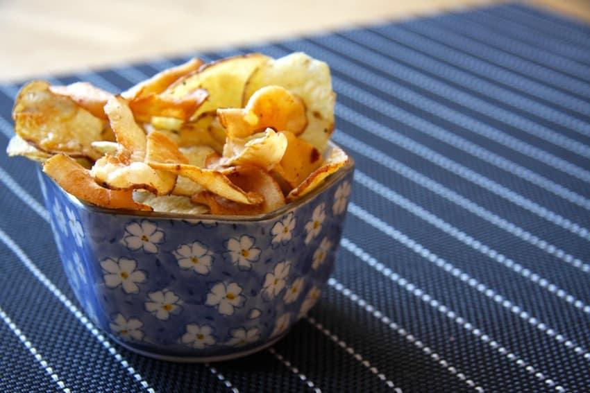 Sellerie Chips - ein knuspriger Genuss