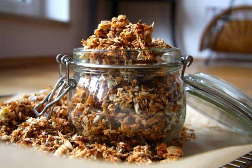 Rezept für Low-Carb-Knuspermüsli