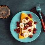 Low-Carb-Rezept für eine süße Eierspeise