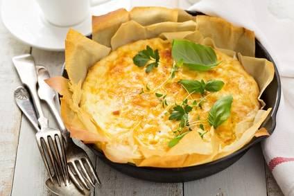 rezept f r ein lauch schinken omelette. Black Bedroom Furniture Sets. Home Design Ideas