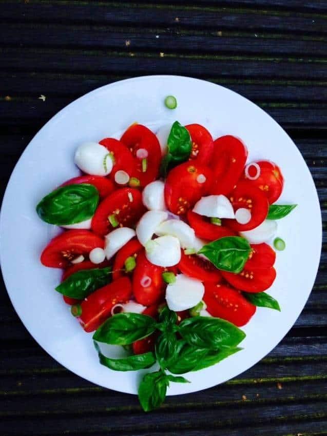 Mozzarella-Tomatensalat