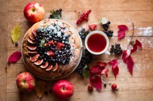 Rezept für Low-Carb-Apfelkuchen