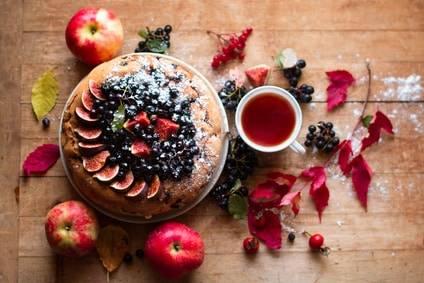 Apfelkuchen - ein herbstlicher Genuss!