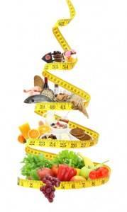 Low-Carb-Pyramide für eine kohlenhydratarme Ernährung