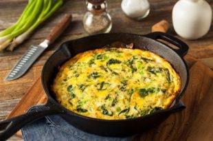 Spinat-Omelette - ein Low-Carb-Rezept, das es in sich hat!