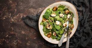Spinatsalat: Low Carb und so gesund!