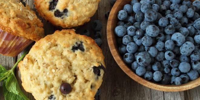 low carb rezept f r vanille blaubeer muffins. Black Bedroom Furniture Sets. Home Design Ideas