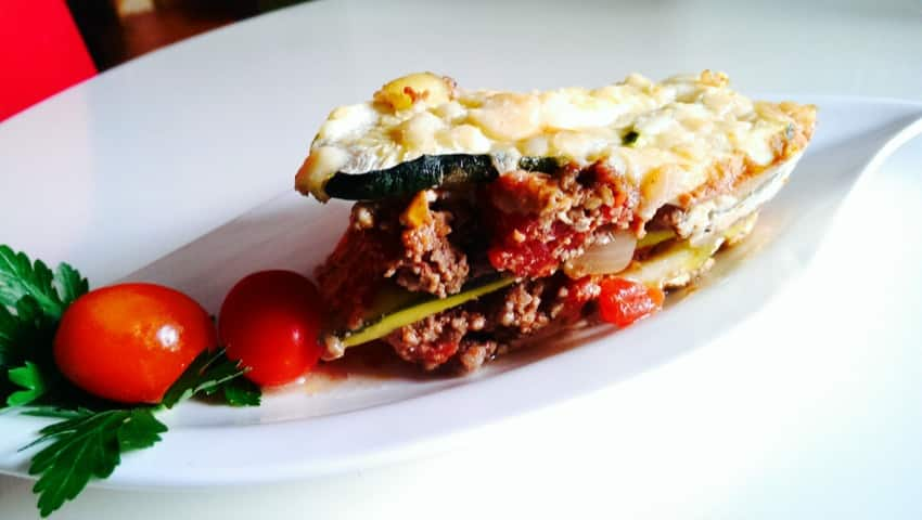 Low Carb Lasagne mit Zucchini