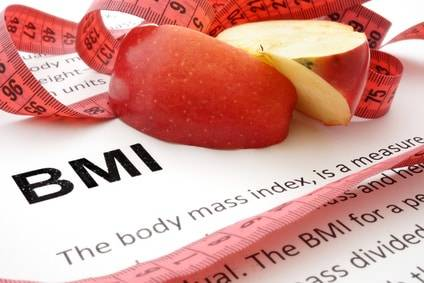 Berechnung des Body Mass Index BMI