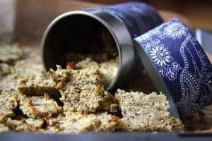 Kokos-Zimt-Bites - ein kohlenhydratarmes, zuckerfreies Müslirezept