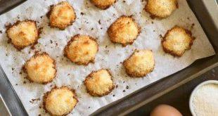 Kokosmakronen können auch Low Carb sein - mit unserem Rezept