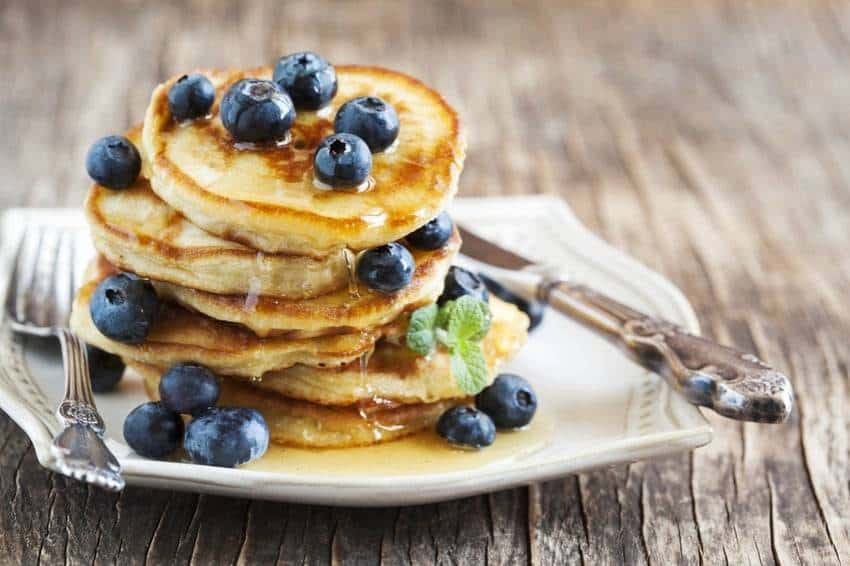 Low Carb Mini-Pancakes