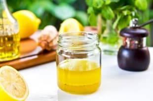 Zuckerfrei und Low Carb: unser Basilikum-Zitronen-Dressing