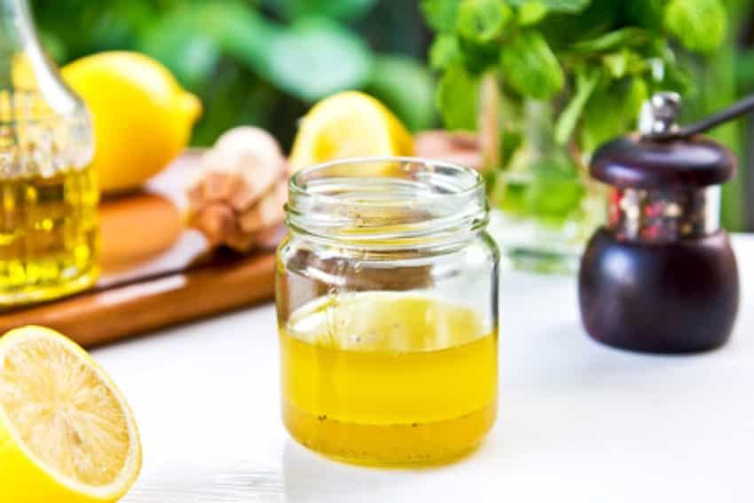 Basilikum-Zitronen-Dressing