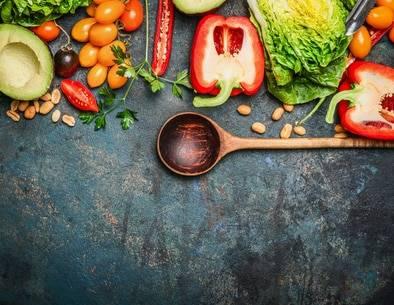 Wochenplan für Vegetarier