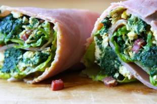 Schinken-Wrap auf Low Carb!