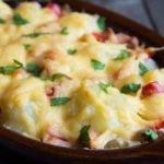 Low-Carb-Rezept für Blumenkohl-Käse-Auflauf