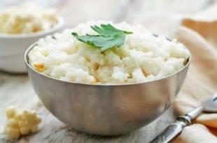 Eine perfekte Alternative zu Reis - Blumenkohl