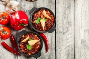 Chili sin Carne - fleischloser Low-Carb-Genuss