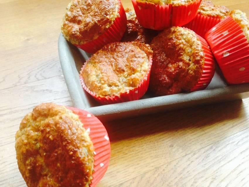 Leinsamen-Mandel-Muffins