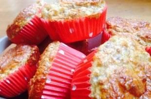 Kohlenhydratarme Leinsamen-Mandel-Muffins