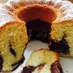 Rezept für einen Low-Carb-Marmorkuchen
