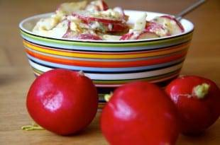 Ein gesundes Low-Carb-Rezept: Radieschen-Eiersalat