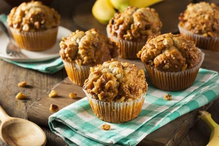 Leckere, selbst gemachte Low-Carb-Muffins – ein Genuss!