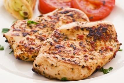Putenbrustfilet mit Gemüse - ein ideales Low-Carb-Gericht