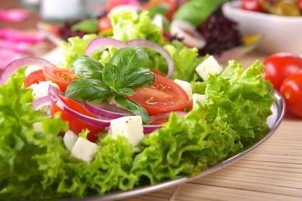 Griechischer Salat - ein Klassiker für ein Low-Carb-Rezept