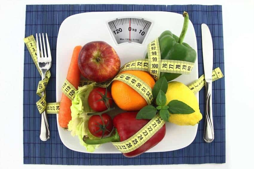 Obst und Gemüse bei Low Carb